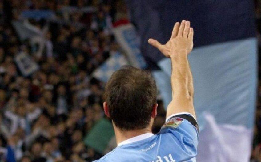 Așa i-a salutat Ștefan Radu pe suporterii lui Lazio Roma