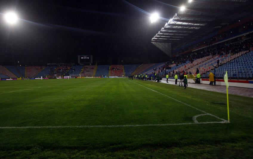La meciul cu Sportul, stadionul din Ghencea a fost aproape gol.
