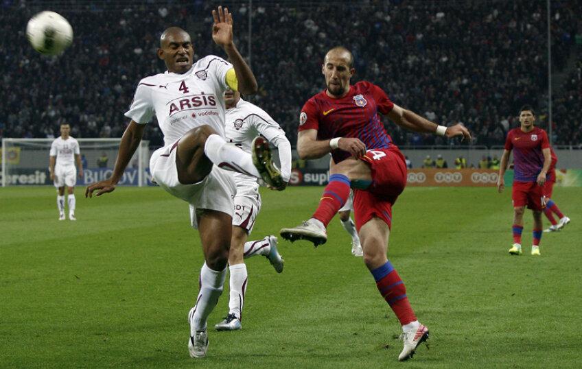 Rapid şi Steaua sînt două dintre contracandidatele la titlu.