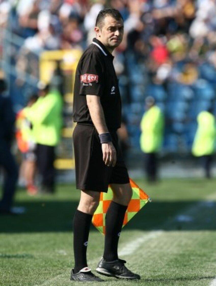 Adrian Vidan a greşit grav în defavoarea Braşovului la meciul cu Concordia, 2-3
