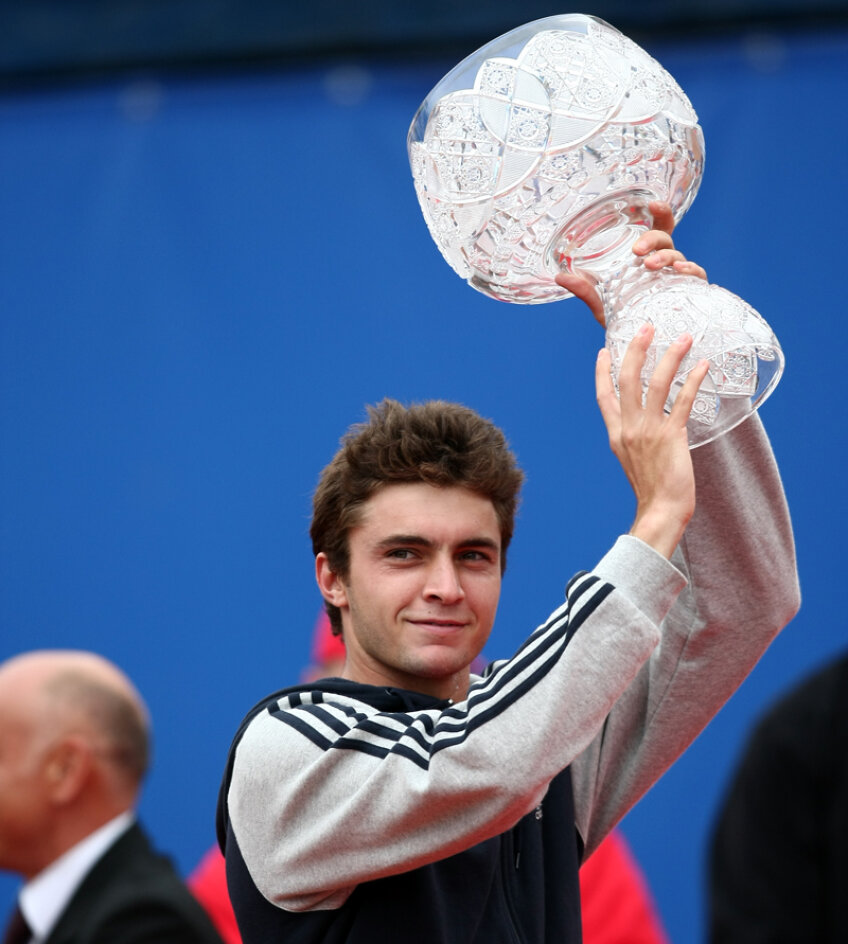 Gilles Simon ştie cît de greu e trofeul de la Bucureşti, l-a ridicat de două ori