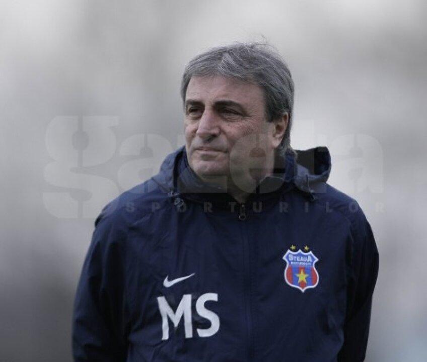 Mihai Stoichiță, antrenorul Stelei, vrea o victorie din deplasarea de la Galați
