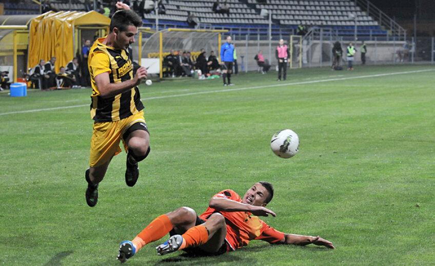 În tur, Braşov şi Ceahlăul au terminat la egalitate, 1-1