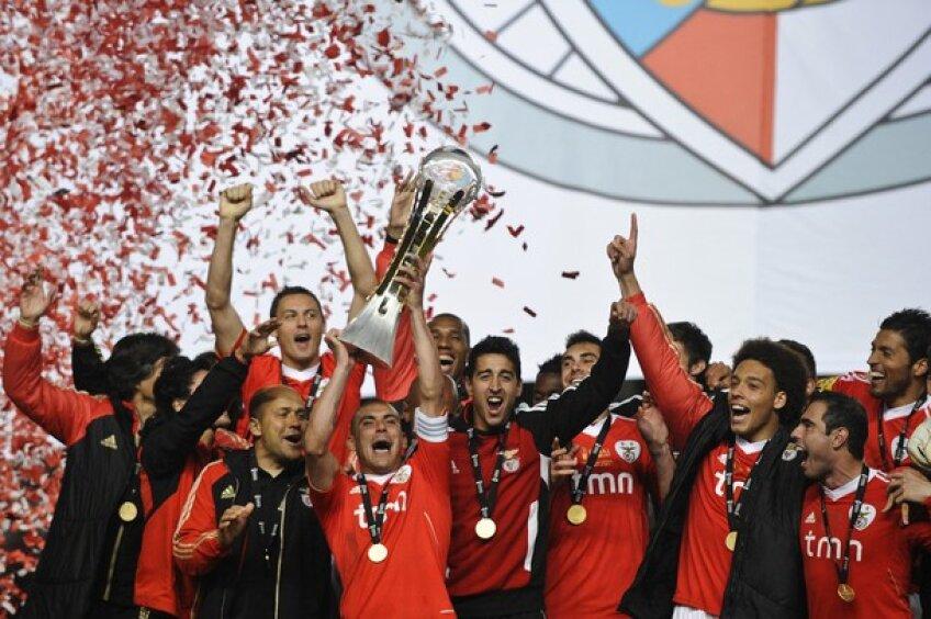 Benfica se impune pentru a patra oară în Cupa Ligii Foto: GettyImages