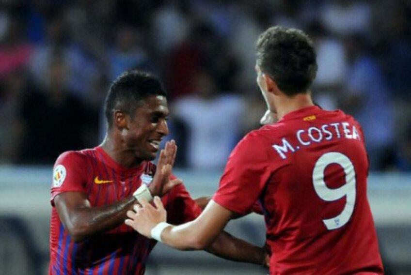 Tatu și Mihai Costea au marcat golurile victoriei pentru Steaua