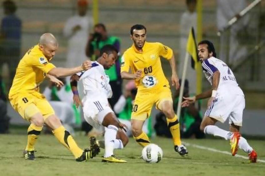Al Wasl-Al Ain 2-2