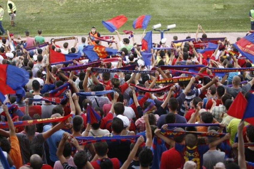 Victorie cu stadionul plin, egal cu el gol