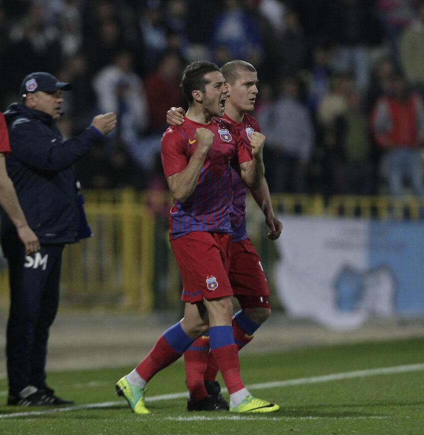 Alexandru Chipciu şi Alexandru Bourceanu, jucători la Steaua