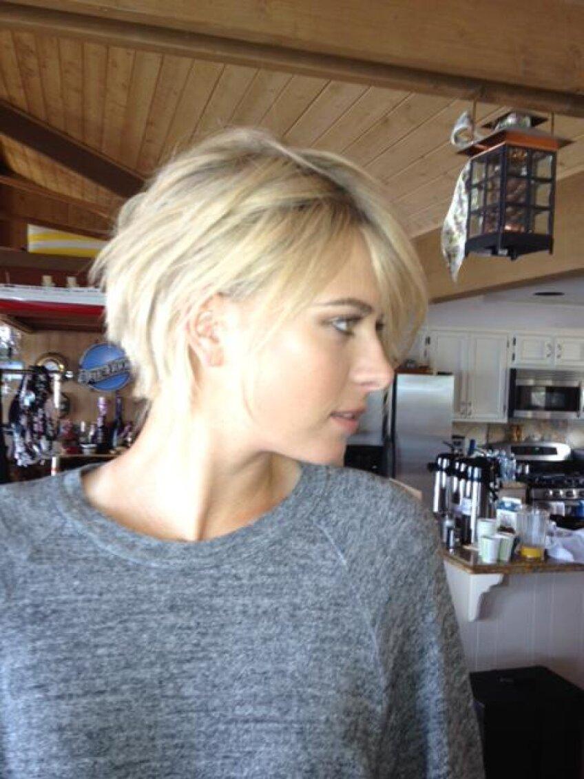 Noul look al Mariei Sharapova foto: pagina personală de facebook