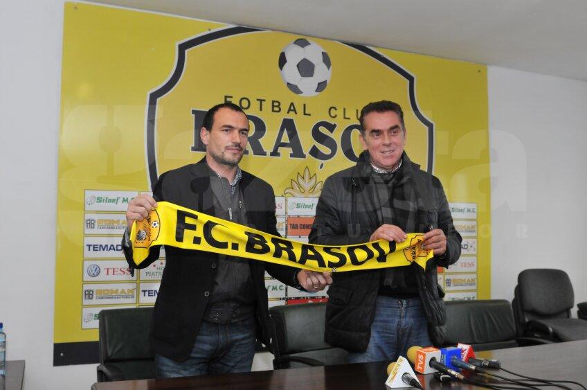 Ionuţ Badea, antrenor FC Braşov