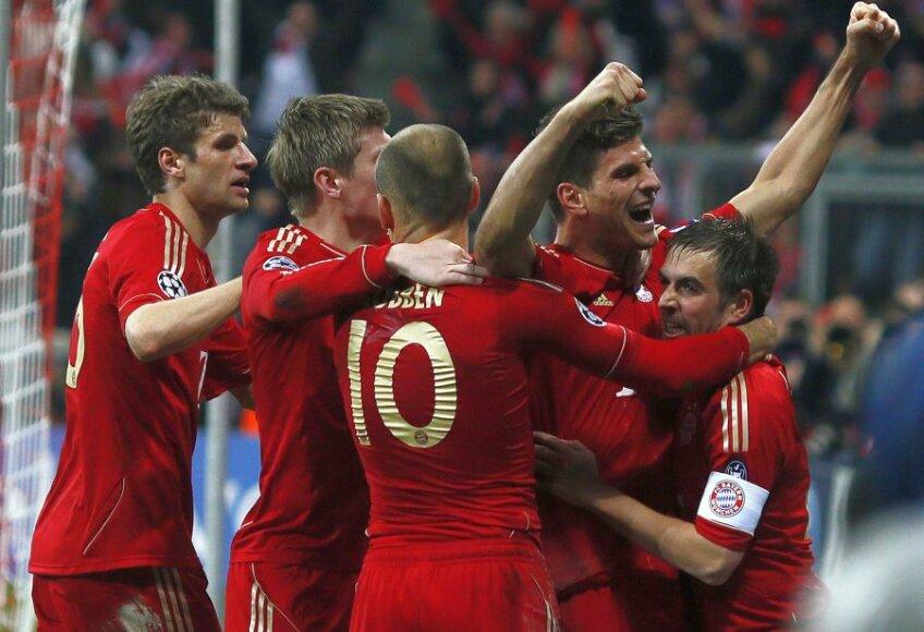 Mario Gomez a adus victoria nemţilor în ultimul minut al meciului Foto: Reuters