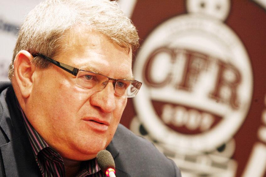 Iuliu Mureşan nu e deloc încîntat de aducerea arbitrilor din străinătate