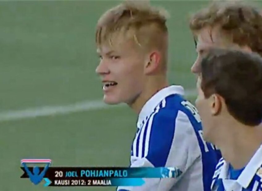Joel Ponhjanpalo, noul puști-minune al Finlandei