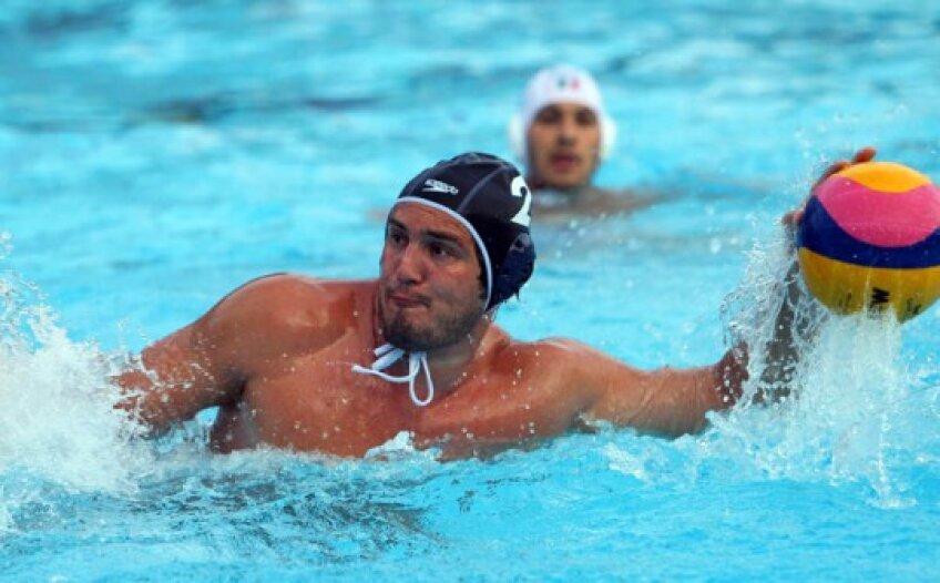 Cosmin Radu, căpitanul naționalei de polo