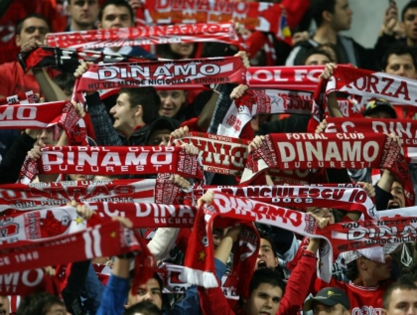 Fanii lui Dinamo nu se înghesuie să vadă duelul cu nemțenii