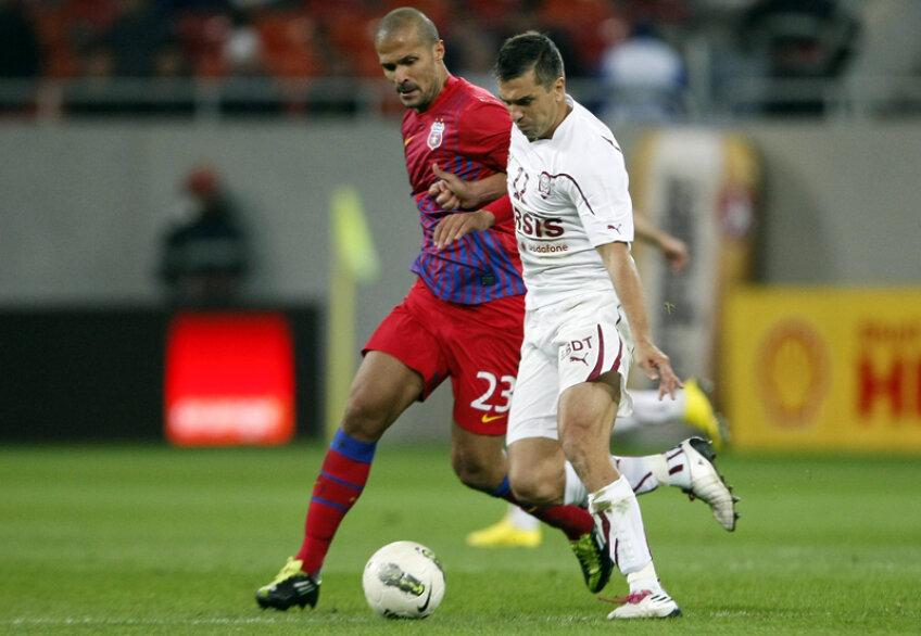 Sezonul trecut, în Ghencea, Pancu a marcat unicul gol al meciului, aducînd victoria Rapidului