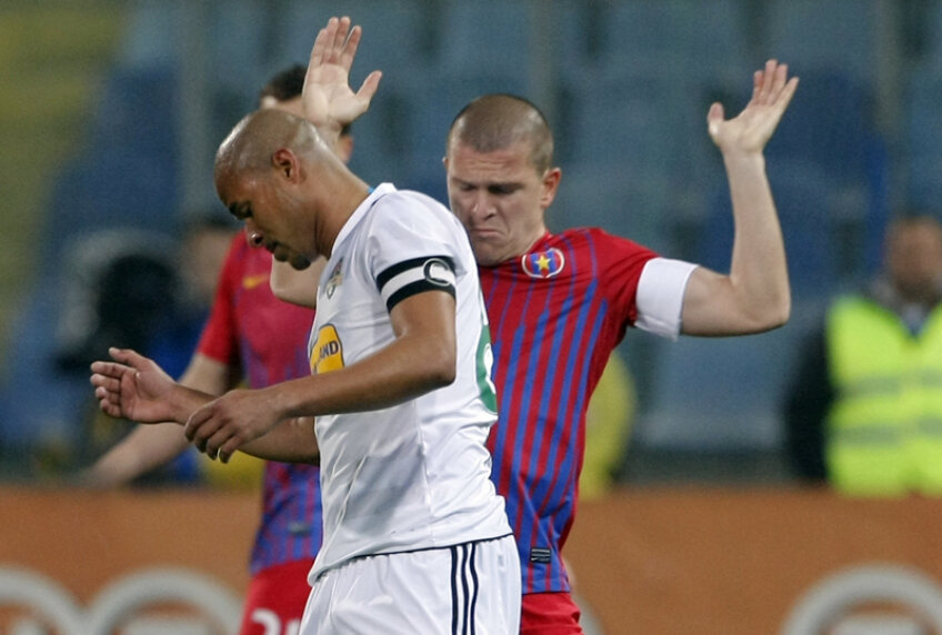 Steaua e pe locul 5, cu șapte etape înaintea finalului, și dacă termină pe poziția asta, își va afecta și sezonul viitor