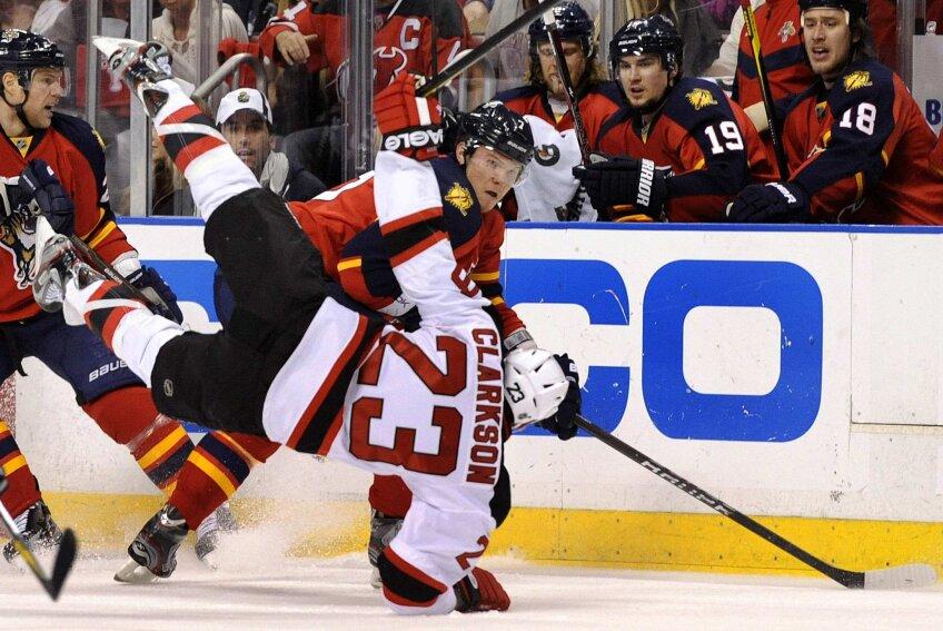 Cel mai puternic cîștigă: duel strașnic din NHL (foto: Reuters)