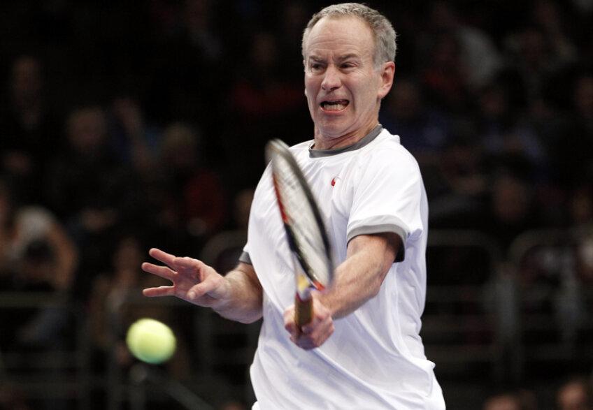 În 1984, McEnroe a jucat cu echipa SUA în Cupa Davis împotriva lui Năstase şi Segărceanu