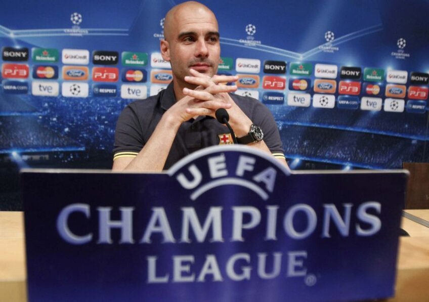 Josep Guardiola crede că jucătorii săi vor fi în finala de la Munchen (foto: Reuters)