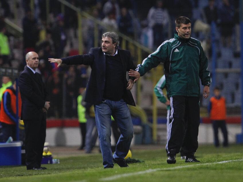 Mihai Stoichiță, tehnician Steaua