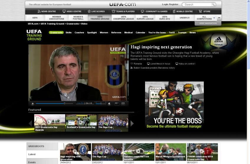 reportaj UEFA