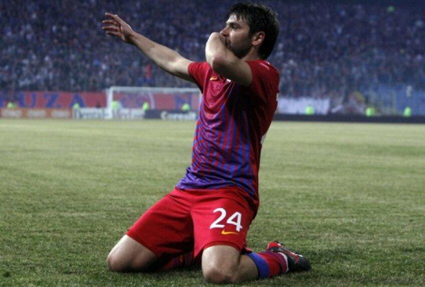 Raul Rusescu, jucător Steaua