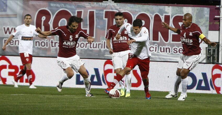 Rapid şi Dinamo au făcut un meci slab în derby-ul terminat la egalitate, 0-0