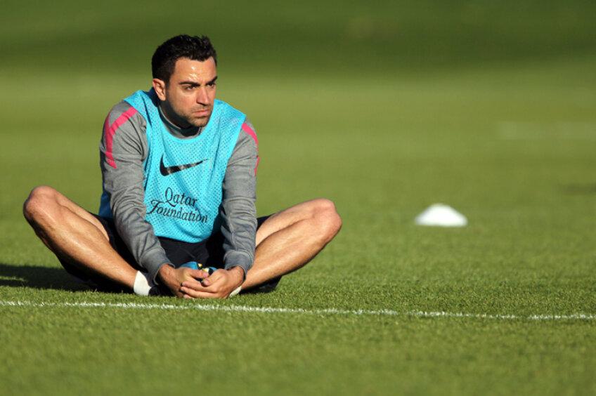 Xavi a pierdut mai multe partide în acest sezon din cauza accidentărilor la gamba stîngă
