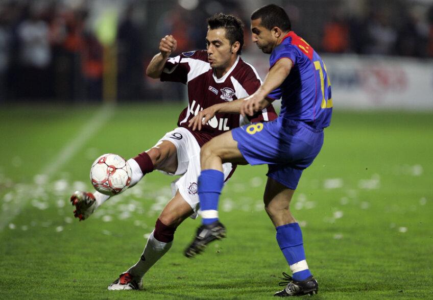 Cea mai mare performanță europeană a Rapidului rămîne sfertul de finală al Cupei UEFA jucat în compania Stelei