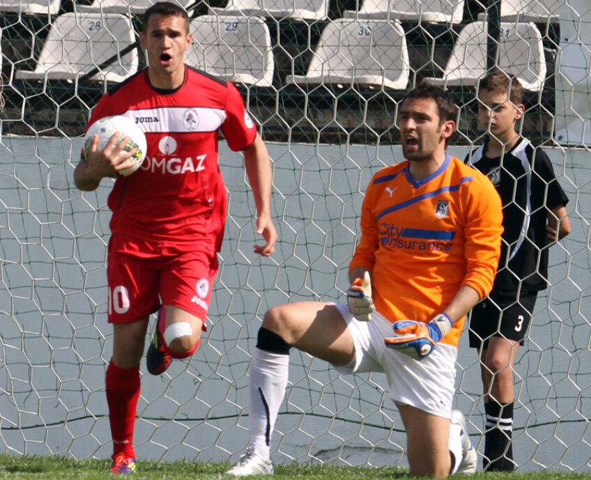 Bawab a marcat ieri al 7-lea gol din acest campionat // Foto: Ştefan Constantin