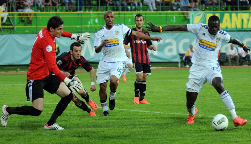 Vasluienii au reuşit să întoarcă rezultatul după ce au fost conduşi cu 0-1 în prima repriză.