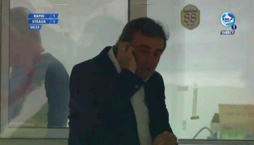 Stoichiţă primea indicaţii prin telefon în timpul partidei din Giuleşti