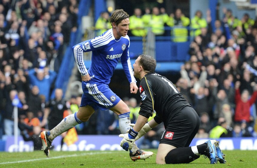 Fernando Torres a marcat trei goluri în meciul cu QPR foto: reuters