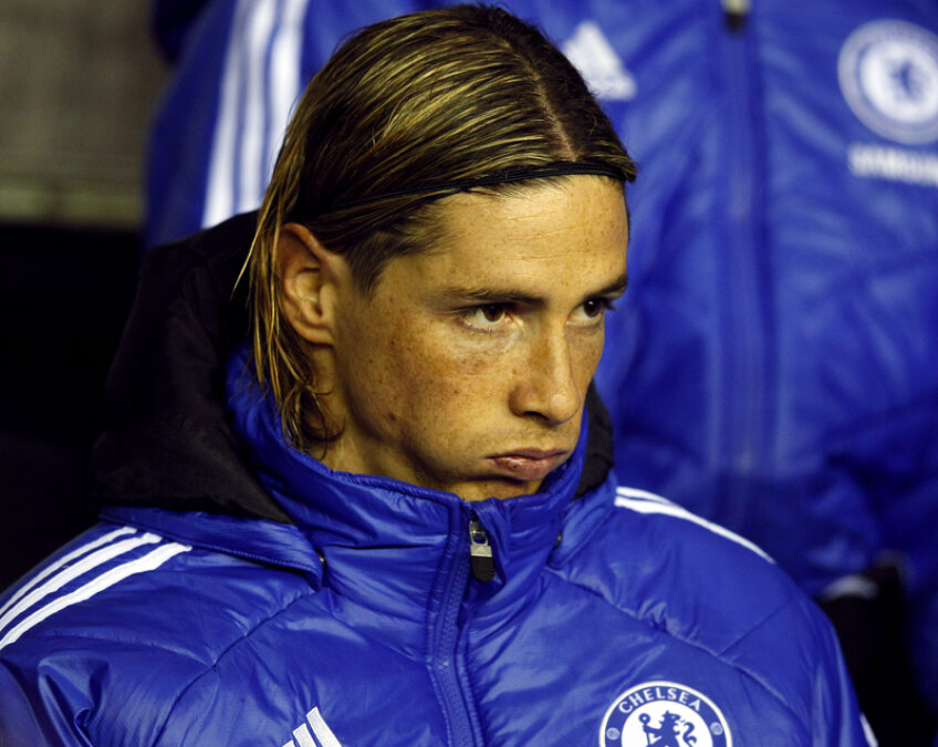 Torres a marcat 11 goluri în 49 de apariții la Chelsea în toate competițiile sezonului 2011-2012