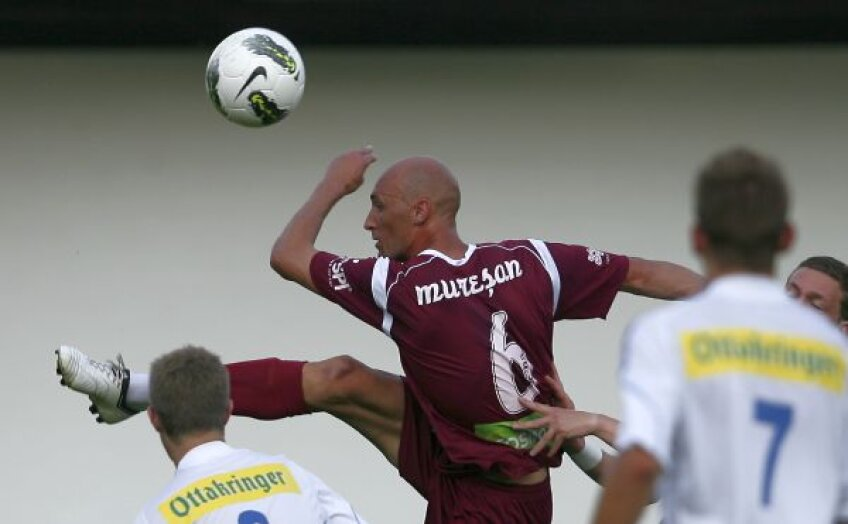 Gabi Mureșan este singurul jucător al campioanei României nominalizat la titlul de cel mai bun fotbalist român din 2012