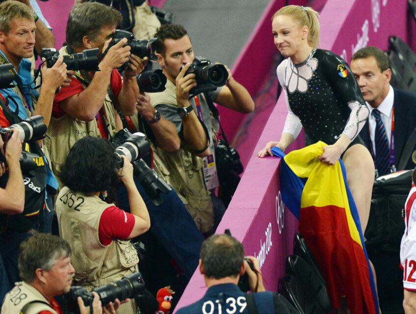 Sandra Izbaşa a cucerit o medalie de aur la Jocurile Olimpice