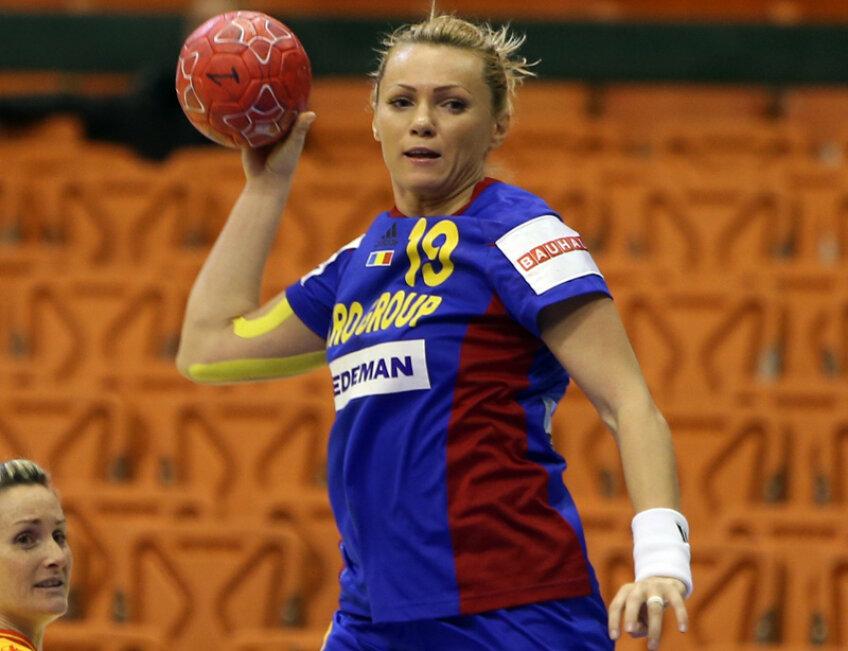 Iulia Curea a resimţit dureri la braţul drept în perioada campionatului european.