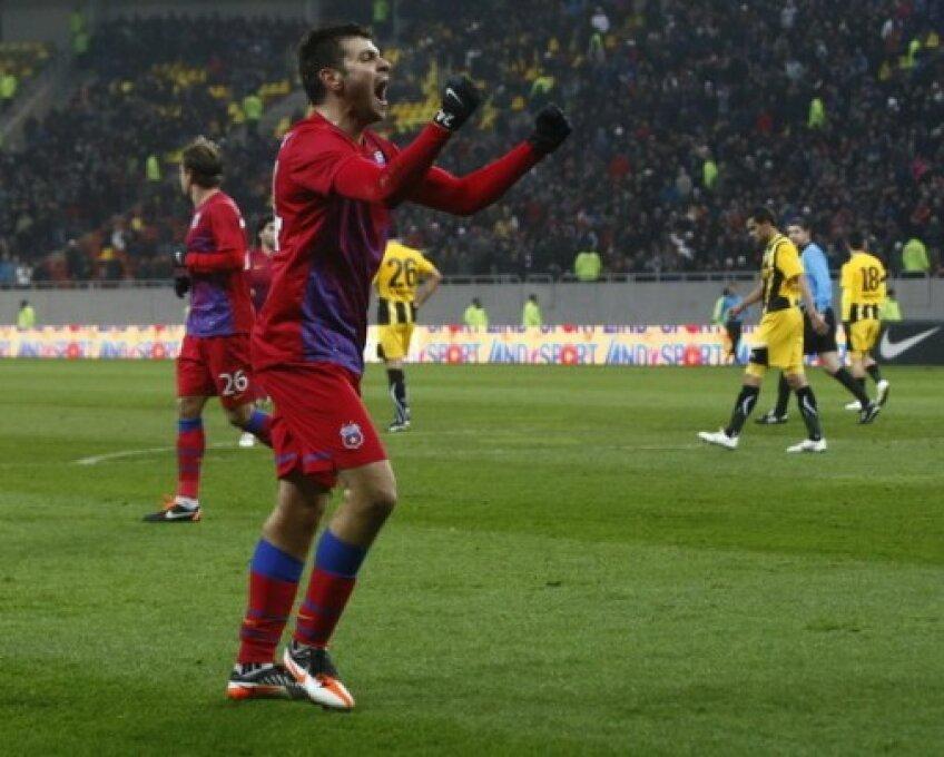 Rusescu a transformat trei penalty-uri în această toamnă