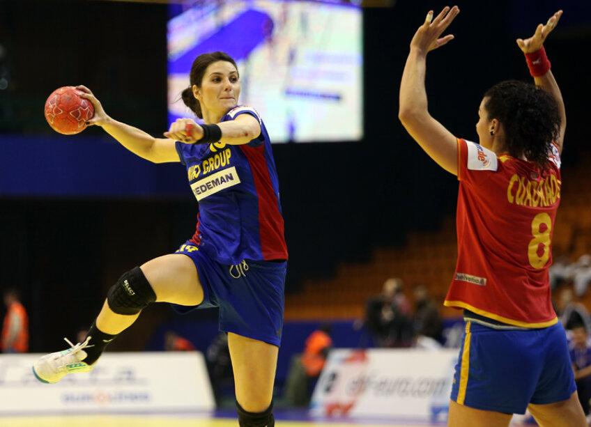 Adina Meiroşu a marcat pînă acum la CE 14 goluri // Foto: Marius Ionescu (Novi Sad)
