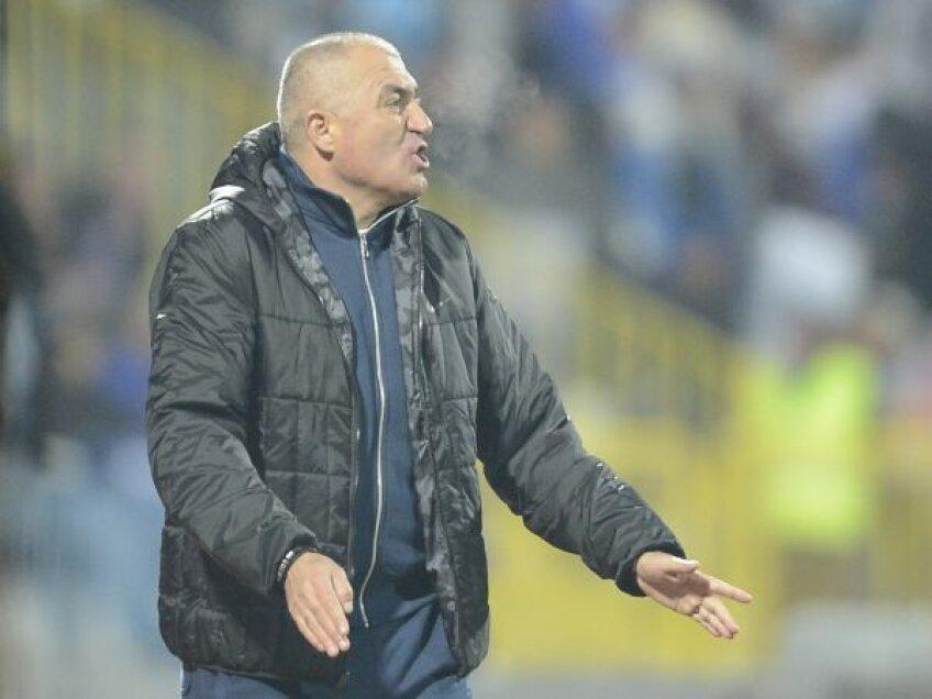 Grigoraș e singurul tehnician care a fost plasat pe locul 1 de propriul președinte, Eugen Pîrvulescu de la Pandurii