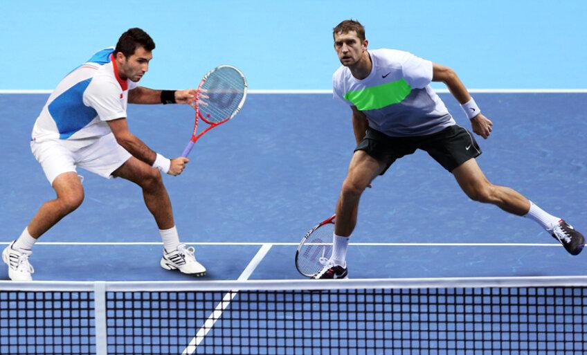 Horia Tecău şi Max Mirnîi se află la primul turneu împreună // Fotomontaj: Gazeta Sporturilor