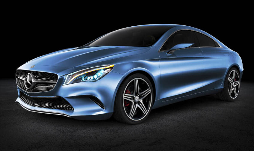 Mercedes-Benz CLA apare în luna mai