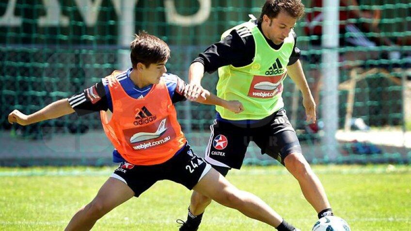 În duel cu Del Piero