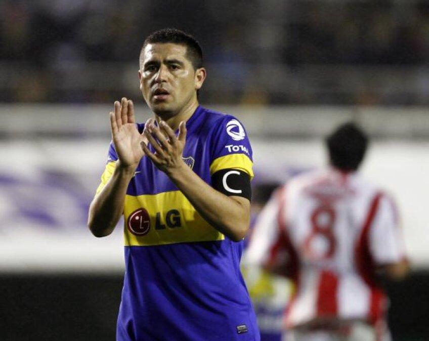 Riquelme a debutat în tricoul Bocăi la 18 ani (foto: Reuters)