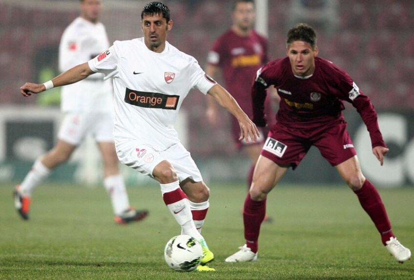 Dănciulescu a marcat ieri primele sale goluri în cantonamentul din Spania