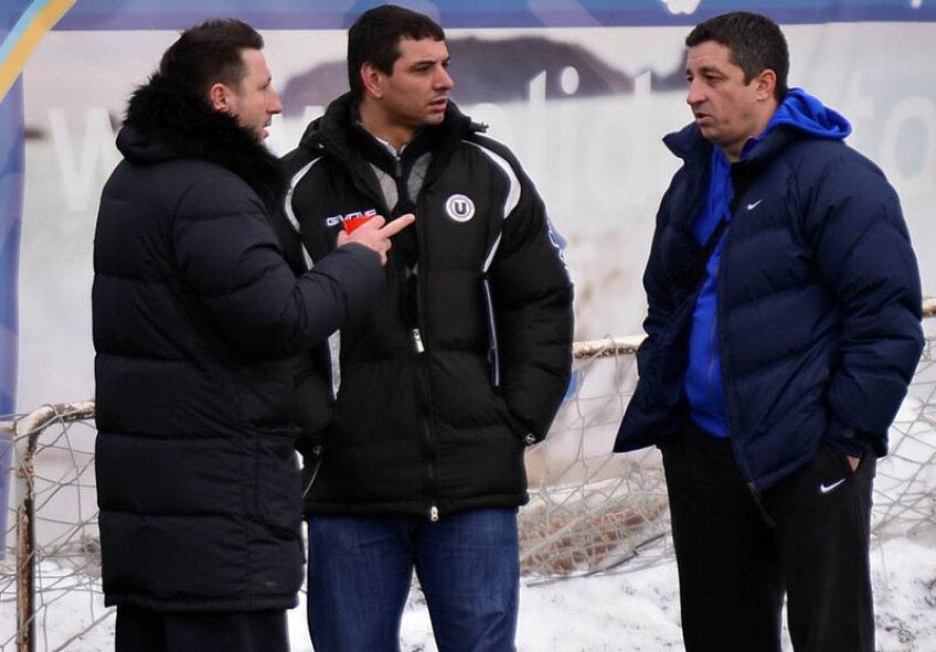 Ionel Ganea şi-a luat în serios rolul de antrenor la U Cluj.