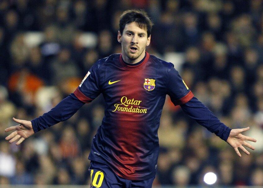 Messi are deja 299 de goluri în tricoul Barcelonei (foto: Reuters)