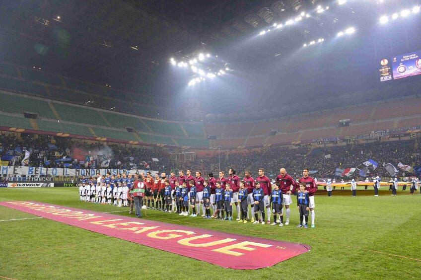 Doar un inel a fost deschis la meciul dintre Inter și CFR