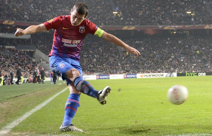 Bourceanu va fi suspendat în meciul retur pentru cumul de cartonașe galbene